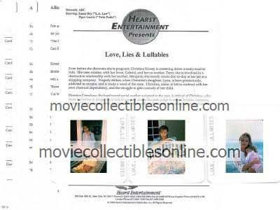 Love, Lies, & Lullabies Press Kit
